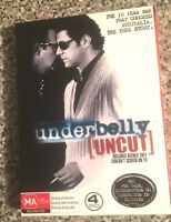 UNDERBELLY (UNCUT) The 10 Year War That Shocked Australia. The True Story 4 disc