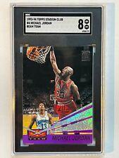 1993 Stadium Club Beam Team Michael Jordan #4 SGC 8 NM-MT