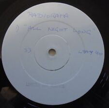 "RADIORAMA ~ All Night Long ~ 12"" Single PROMO"