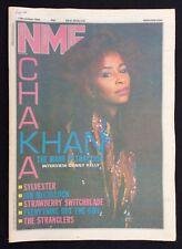 NME 1 December 1984 Chaka Kahn Cover Sylvester Stranglers