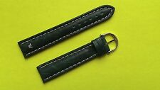 New Maurice Lacroix dark green genuine leather strap 20mm.