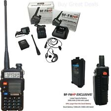BaoFeng BF-F8HP 8W TRI-POWER Two Way Ham Radio Walkie Talkie w/ Accessories NEW