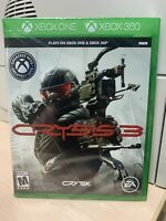 Crysis 3 Xbox One/Xbox 360 Game BRAND NEW FACTORY SEALED!!!