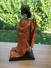 Vintage Japanese Geisha Doll Figure