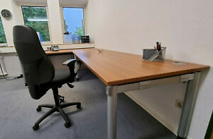Palmberg Schreibtisch 200 x 80 x 72 cm höhenverstellbar, neuwertig