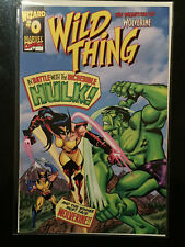 WILD THING #0 nm THE ORIGINAL DAUGHTER OF WOLVERINE HULK 181 Homage wizard