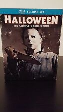 HALLOWEEN: The Complete Collection [Blu-ray] Like New. 10 movies. Free shipping.