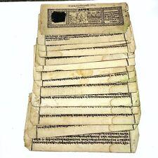 RARE Antique Indian Sanskrit Manuscript Jagannātha Māhātmya Circa 1884 On Paper