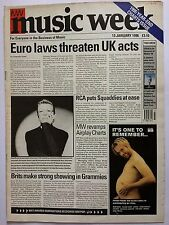 MUSIC WEEK MAGAZINE    JANUARY 13 1996   1995 YEAR-END CHARTS ISSUE   LS