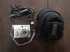 Nikon COOLPIX 7600 7.1MP Digital Camera - Silver With USB Cord & Cary Case