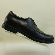 Rockport Mens Adiprene  Adidas Brown Leather Oxfords Dress Shoes  Size 12M #E97