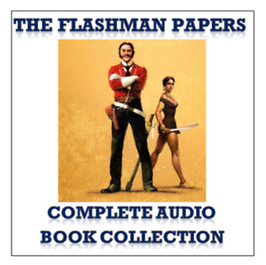 Flashman Audio Book Collection 17 Titles 220 Hours 2 x MP3 DVD's + FREE GIFT