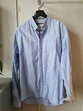 MINIMUM Hemd, Oxfordstyle, Gr. XL, blau, sehr guter Zustand, gebraucht