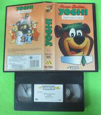 VHS film YOGHI SUPERSTAR 1991 animazione MONDADORI MVM 08012 (F86) no dvd