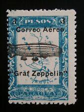 Paraguay 1 Mint Hinged Og Stamp Sc # C54