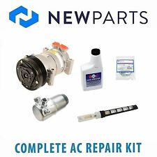 For Chevrolet GMC C3500HD Complete AC A/C Repair Kit w/ NEW Compressor & Clutch