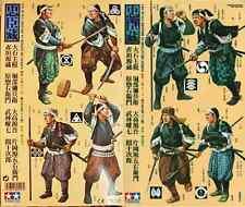 "Tamiya ""47 Ronin"" # 89557 - 8 Samurai in 1/35th scale model kit sealed mint set"