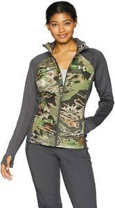 Under Armour Women's Artemis Hybrid Jacket Forest Camo (1282685-940) NWT! Sz:L