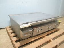 """Keating 36Ld36X30E"" Hd Commercial 36"" ""Miraclean"" 208/240V, 3Φ Electric Griddle"
