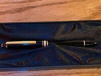 Montblanc Meisterstuck Fountain Pen 144 Medium 585 14k gold Black