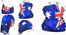 aussie flag bandana face sock motorcycle fishing ski mask