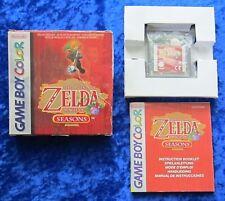 The Legend of Zelda Oracle of Seasons Nintendo GameBoy Color Spiel OVP Anleitung