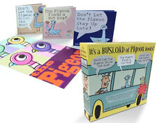 Don't Let the Pigeon Drive the Bus,Stay Up Late & Finds a Hot Dog (Box Set)