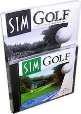 Maxis Sim Golf for (PC, 1996) Retail .... !! Rare!! New!!