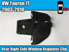 Window Regulator Repair Slider Clip For VW Touran 1T 2003 - 2010 Rear Right Side