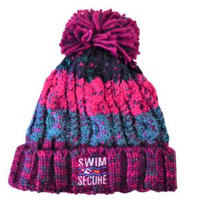 Swim Secure Luxury Bobble Hat - One Size *NEW*