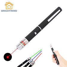 High Quality 5mW Laser Pointer Green/Purple/Red Pen Visible Beam Powerful Laser