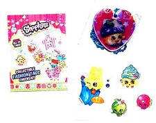 NEW! Shopkins Season 1 Mini Muffin Foil Special Dog Tag Necklace w sticker #s3