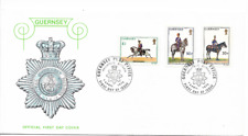 GUERNSEY 1975 High Value Militia Definitives - SG 111/13 - FDC