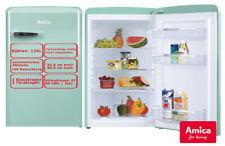 Amica Vollraum Kühlschrank Mint 120L 86cm hoch Retro Design stand Kühlschrank
