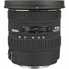 Sigma 10-20mm f/3.5 EX DC HSM AF for Nikon DSLR. U.S. Authorized Dealer