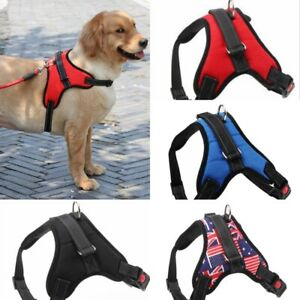 Adjustable Dog Harness Light Padded Strap Gear Lightweight Diff Sizes/Colors