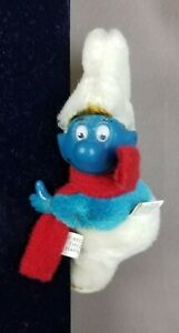 80'S SMURF HUGGER CLINGING CLIP ON VINTAGE RETRO TOY REAR VIEW MIRROR
