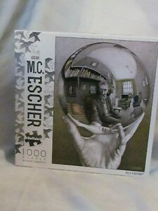 "M.C. Escher Jigsaw Puzzle ""Self Portrait"" Buffalo Games 1000 Piece NEW SEALED!"