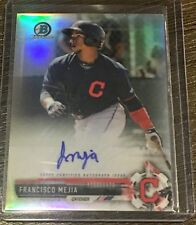 FRANCISCO MEJIA RC AUTO 2017 BOWMAN CHROME PROSPECT REFRACTOR 13/499 INDIANS