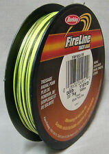 Berkley Fireline 50lb x 110yd Tracer Braid - Hi and Low Vis *New* Saltwater