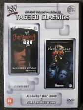 WWF Judgment Day 2000+Fully Loaded 2000 WWE DVD Tagged Classics Wrestling Hasbro