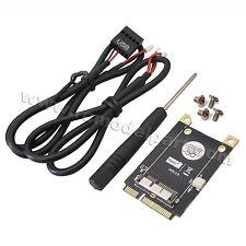 New PCI-E Mini PCI Express Adapter V3.0 for BCM94360CD BCM94331CM