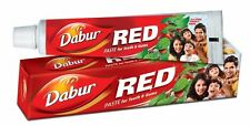 4 PACK DABUR RED TOOTH PASTE AYURVEDA PASTE FOR TEETH AND GUMS FREE SHIPPING