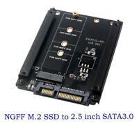 NGFF M.2 SSD to 22Pin SATA Hard Drive Disk Converter Adapter Card for PC Desktop