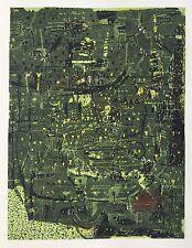 """Falko Behrendt, """"nachtgrün """" , Original, Grafik, Siebdruck"""