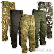 MILITARY ARMY PANTS US STYLE COMBAT BDU TROUSERS CAMO BATTLE DRESS