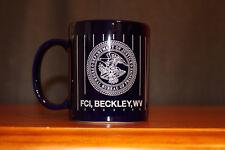 DOJ Federal Bureau Of Prisons Coffee Mug FCI Beckley WV