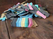 300 Distanzplättchen sortiert 6 Größen Ausgleichsklötze Abstandhalter Bastelholz