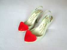VIVIENNE WESTWOOD ANGLOMANIA Melissa 'Lady Dragon Heart' Shoes. UK 4. Eur 37.