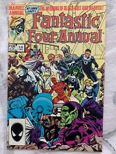 Fantastic Four Annual #18 7.5 VF- 1984 Marvel Comic Something Old Something New